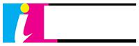 Image Square Printing Logo White Text