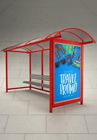 Bus Shelter Poster Large Format Printing